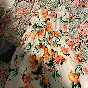 Charlotte Russe Flower Dress
